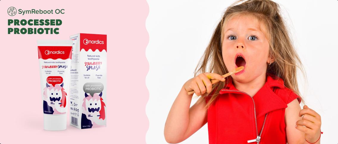 Nordics probiotic toothpaste